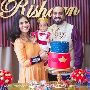 Rishaan Turns 1