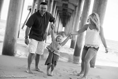 Huntington Beach Family Session