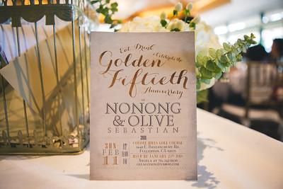 Nonong & Olive's 50th Wedding Anniversary