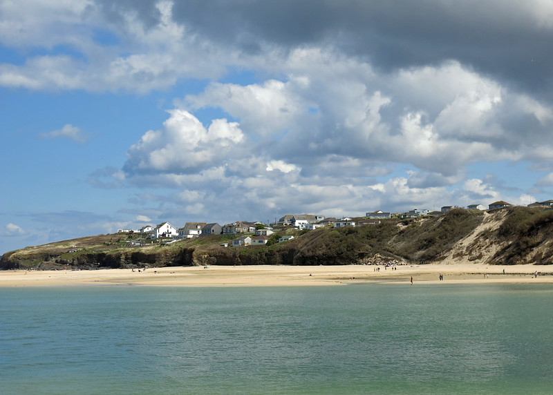 Hayle - on the other side of the river.