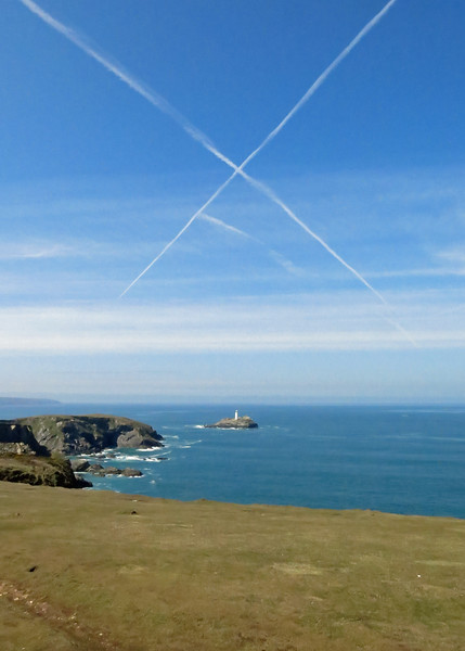 X marks the spot ...or is Scotland claiming the lighthouse?