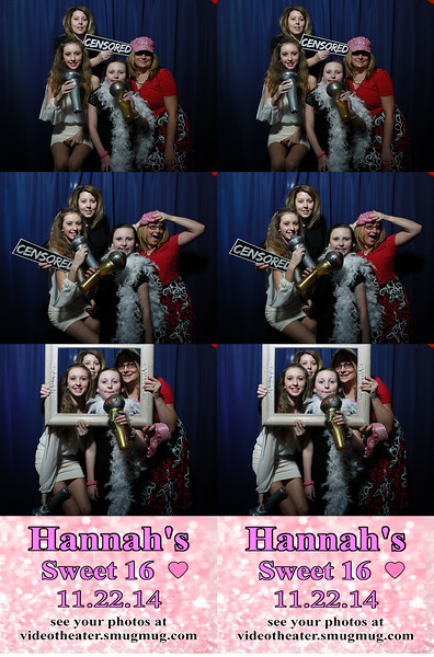 2014.11.22 Hannah's Sweet Sixteen Photobooth