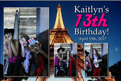 4.15.17 Kaitlyn's 13th Birthday