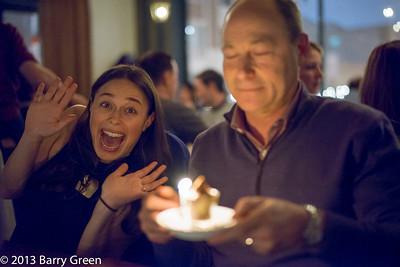 Barry's 58th Birthday Dinner