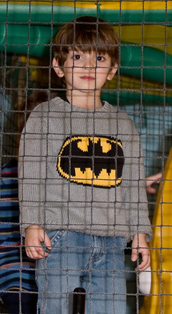 Who keeps Batman in a cage!