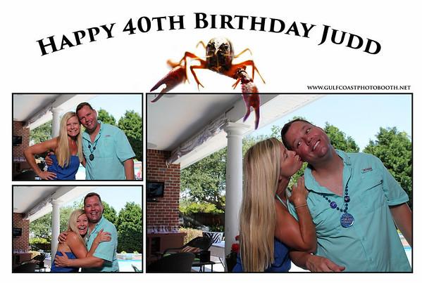 Judd's Birthday Photobooth