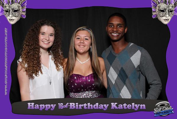 Katelyn Lynch Photo Booth 16th Birthday
