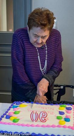 Nettie's 90th Birthday Lunch