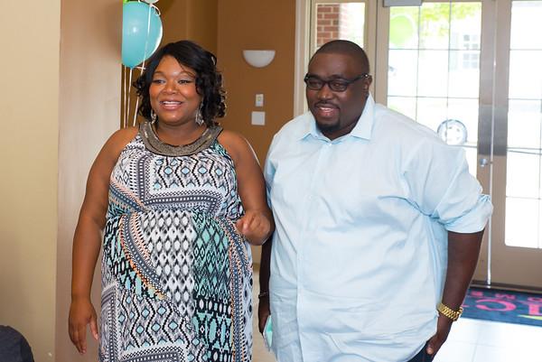 Omar & Rashida baby shower 072515