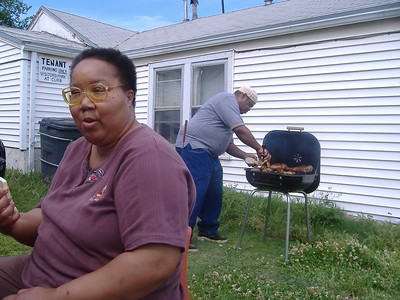 Jennie and John, Wichita's best BBQ cook's.