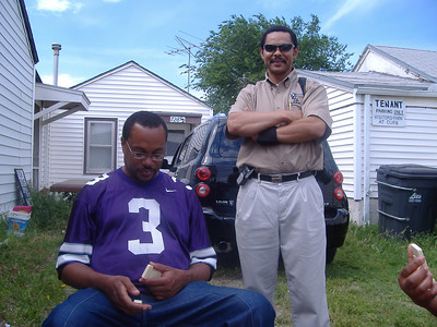My brother Al Dun and Mike (aka Pictureman)