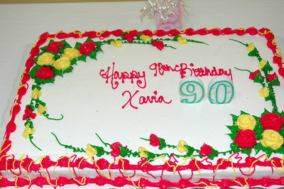 Xavia 90th Birthday Party.