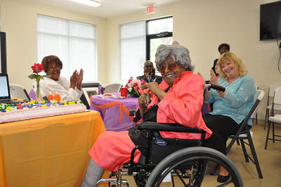 99th Birthday Celebration for Mrs. Frances Jones May 1, 2016