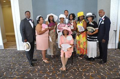 Hat's & Gloves Luncheon 70th Birthday Lady Sandra Barnes June 16, 2018