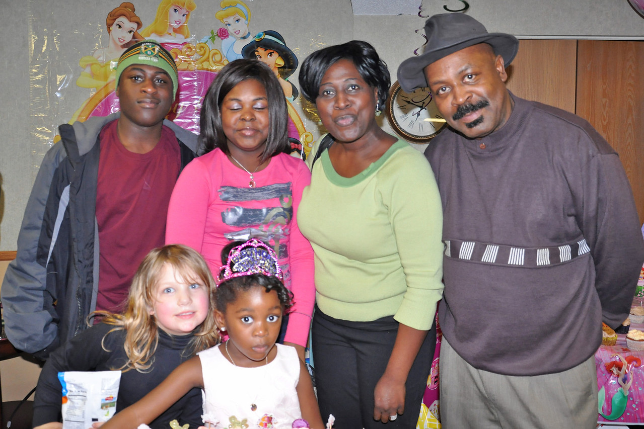 Uncle Ray, Phebe and Kids