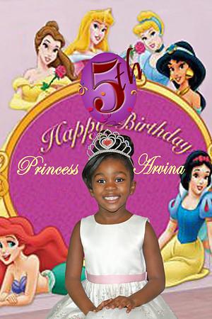 Arvina 5th Birthday Celebration