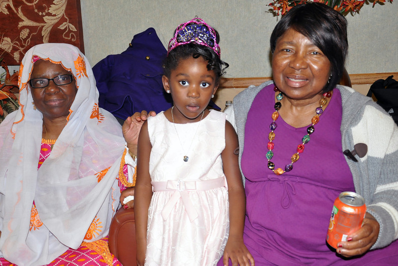 Arvina and Her 2 Grand Moms