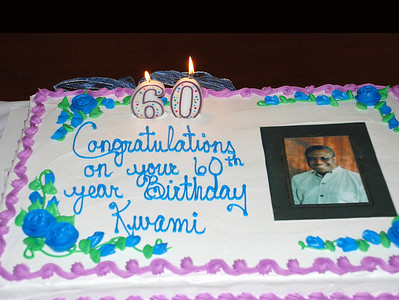 Kwami 60th Birthday Photos