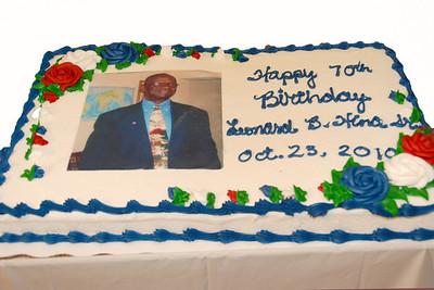 Mr. Hina 70th Birthday Celebration