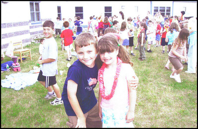 Ty and Molly at School
