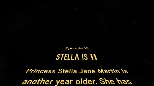 Stella is 11!