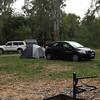 Tom's camping setup