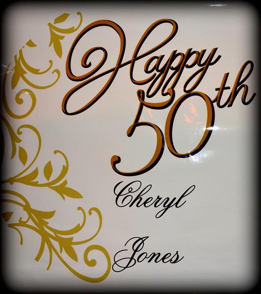 Cheryl's 50th