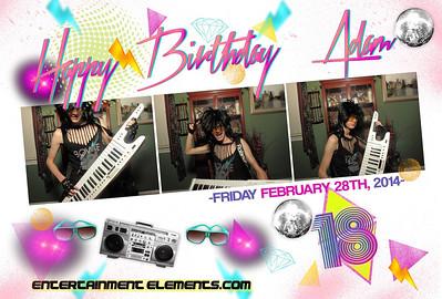 Adam Black's Birthday
