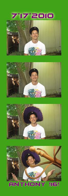 Anthony's 16th Birthday