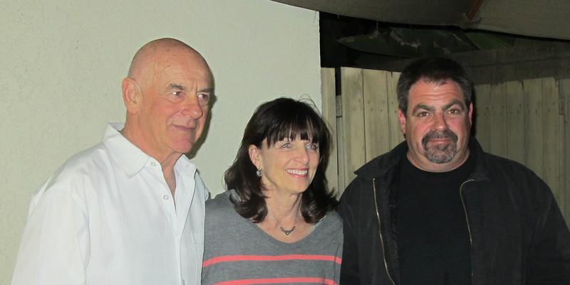 Art, Jackie and Gian