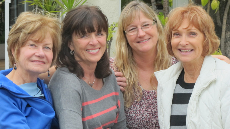 Wives of DOGS (Distinguished Old Gentlemen of CSULB)<br /> Betty, Jackie, Blair, and Laura