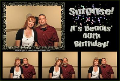 Dennis Pope's 40th Birthday