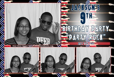 Jackson's 9th Bday