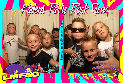 Kaden's LMFAO Party
