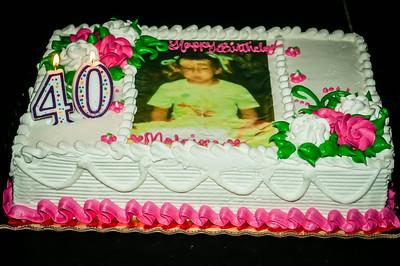 40thBirthday Cake