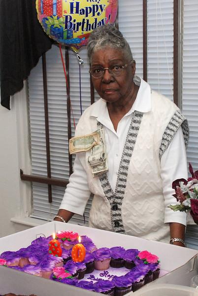 Ms. Fannie's 80th
