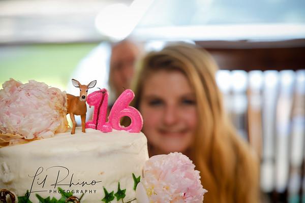 Taylor's 16th Birthday!!