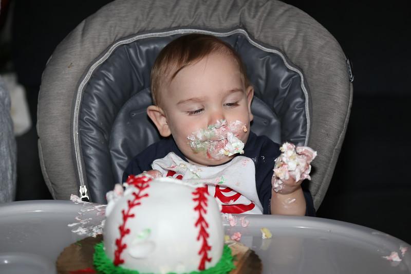 4-8-18 Sami's First Birthday Party