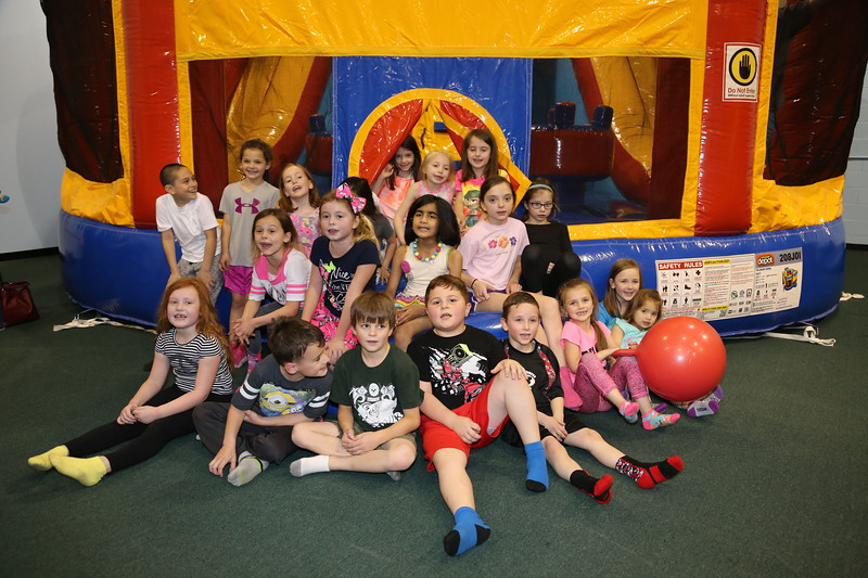 5-14-16 Rylie's 7th Birthday Kids Party - Jump on In