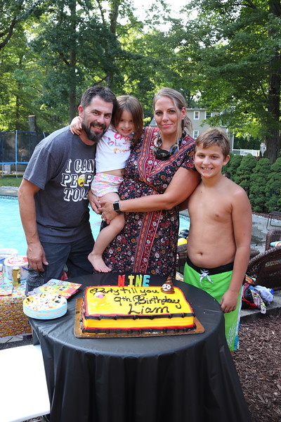 8-26-17 Liam's 9th Birthday Party