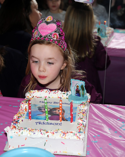 3-19-16 Addy's 4th birthday party