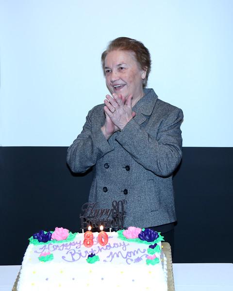 Danica's 80th Birthday Party 12-5-15