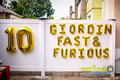 Giordin Fast & Furious 10th Birthday