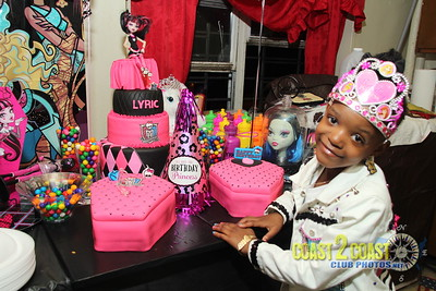 Lyric's 6th birthday dinner party