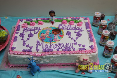 Mahogany 3th Birthday Party