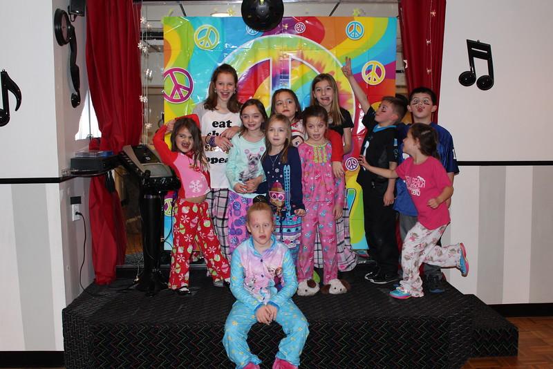 Megan's 7th Birthday Party 1-3-15