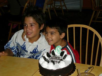 2007-09-14 Nareg's 6th Birthday