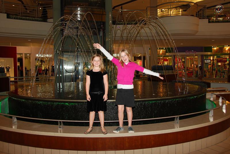 Full fountain display