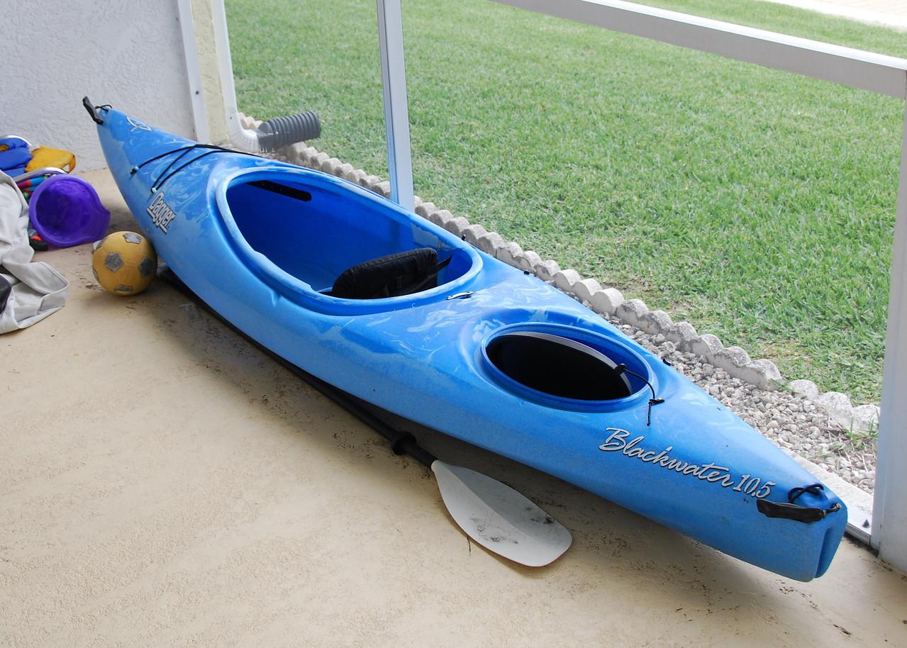 A friends Kayak