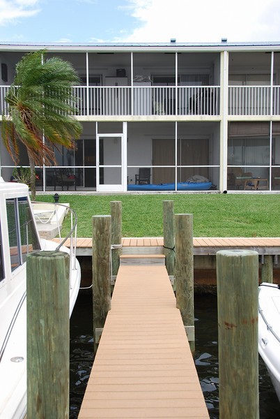 View of the Condo from the Dock